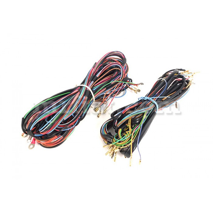 fiat 600 wiring harness - electrical and ignition - fiat 600 - fiat -  italian cars  mr fiat